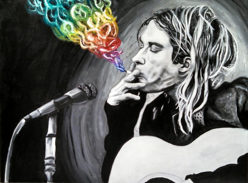 Kurt Cobain par ZombieAshley7